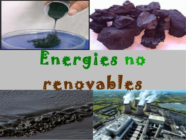 Treball de les energies no renovables !
