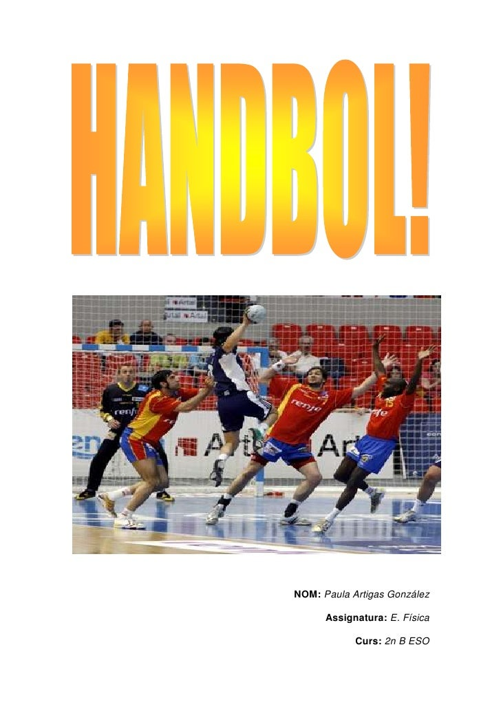 Treball EF - Handbol