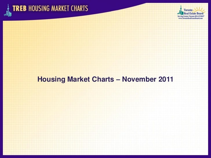 TREB Housing Market Charts - November 2011