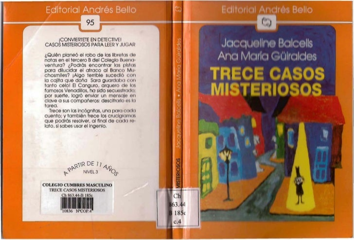 iCONVlERTETE EN DETECTlVLICASOS MISTERIOSOS PARA LEER Y JLJ( ,Al¿Quién planeó el robo de las IIbroteJ:, (h 1notas en el te...