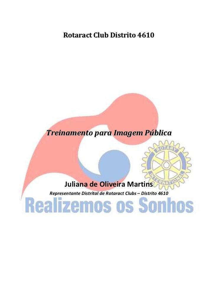 Treinamento imagem pública 2008 2009 por Juliana Martins