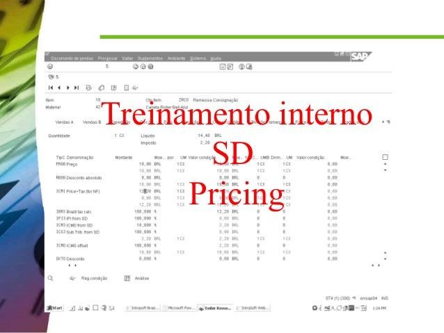 Treinamento interno SD Pricing