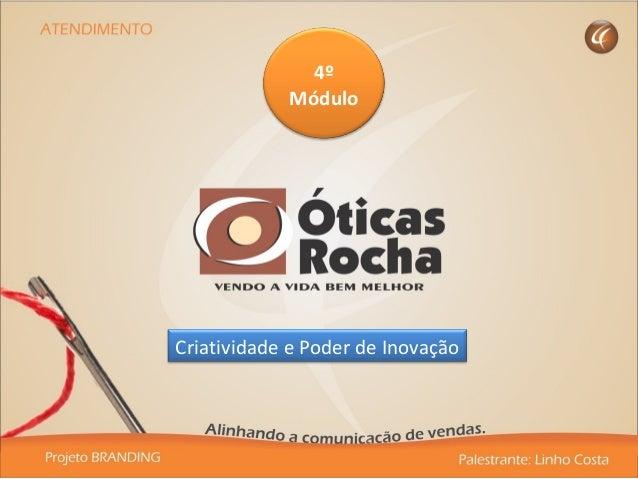 4º Módulo Criatividade e Poder de Inovação