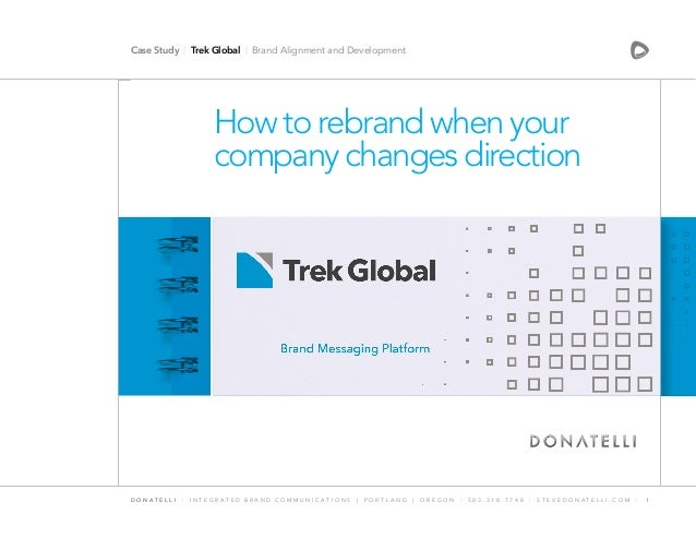 Trek Global | How to rebrand when your company changes direction