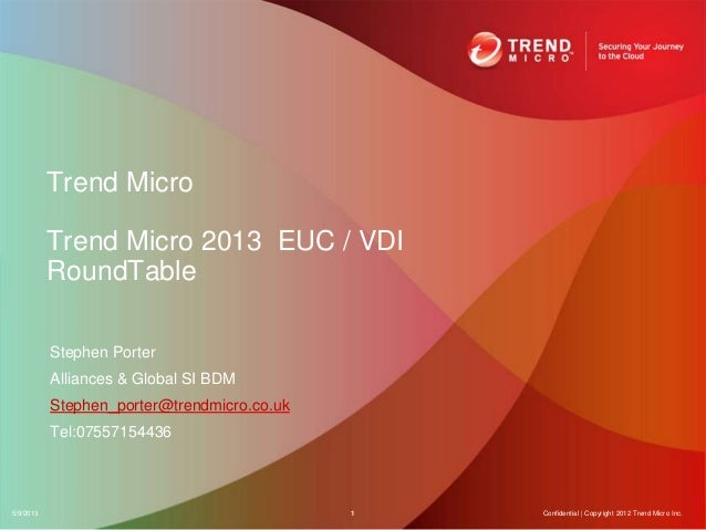 New Horizons for End-User Computing Event - Trend