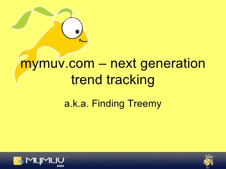 Trend Tracking with mymuv