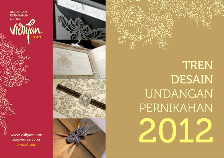 Trend undangan 2012