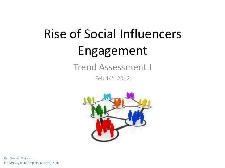 Trend Assessment - Rise of Social Influencers Engagement
