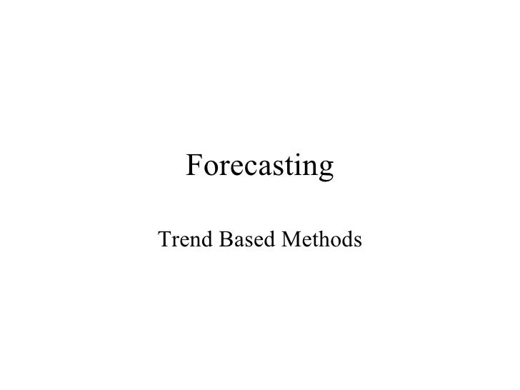 Trend Based + Reg And Holtns