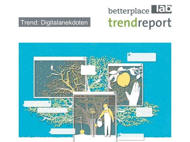 Trend: Digitalanekdoten!
