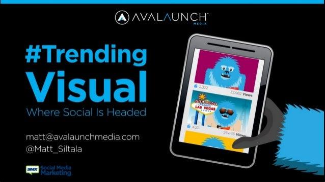 Trending Visual in Social Media SMX Social Media