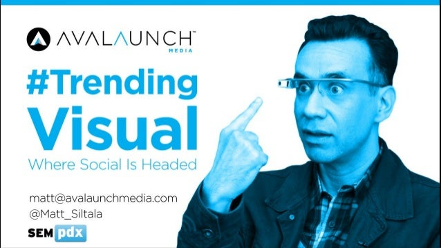 Trending Visual in Social Media - SEMPDX SearchFest 2014 Presentation