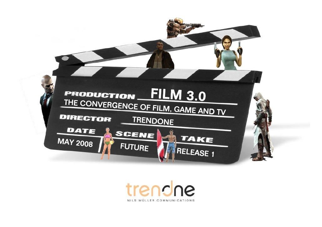 F 3.0                FILMILM 3.0  THE CONVERGEN               CE OCONVERGENCE OF FILM, GAME AND TV                THE F FI...