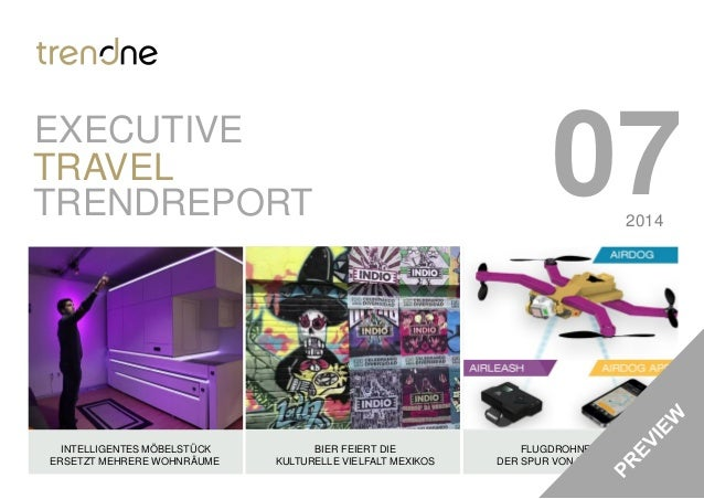 TrendONE Travel Trendreport Juli 2014 Preview