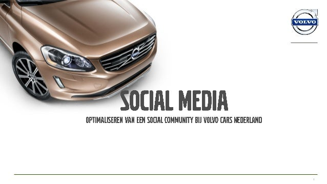 Trend Pioneers - Joyce Schellevis (Volvo Cars Nederland) - Social in de automotive sector