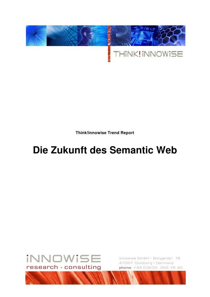 Think!innowise Trend Report    Die Zukunft des Semantic Web