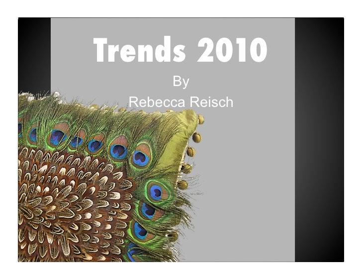 Trends 2010
