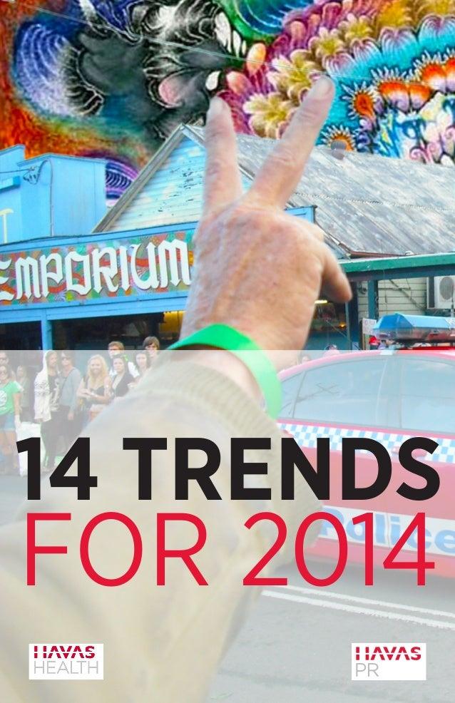Trends2014 by Marian Salzman at Havas PR