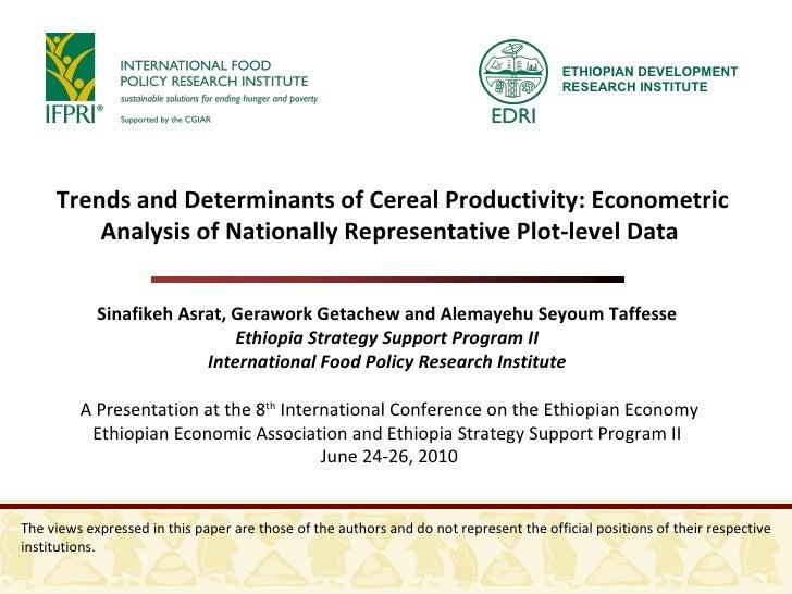 econometric thesis topics