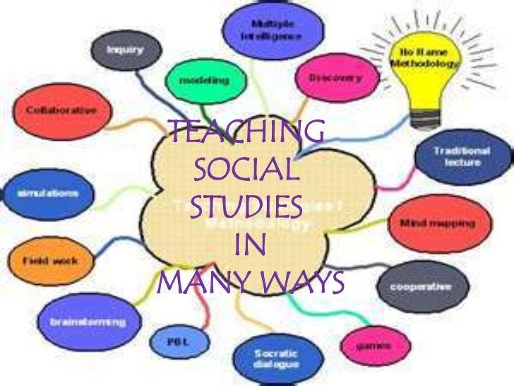 TEACHING  SOCIAL STUDIES    INMANY WAYS