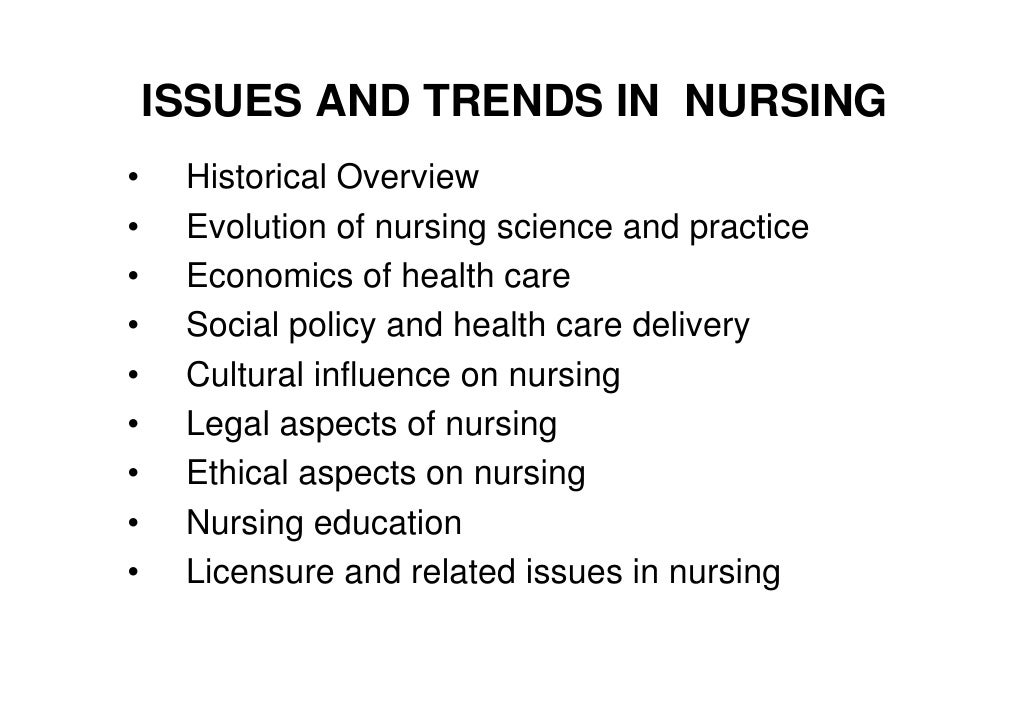 ethical issues in nursing understaffing Cultural issues in nursing national nurses week celebration with the understaffing and 'do more with less' attitude in healthcare in the us.