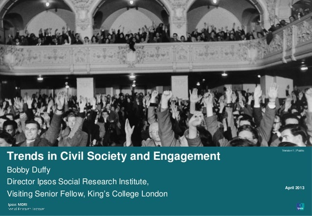 Trends in civil society and engagement