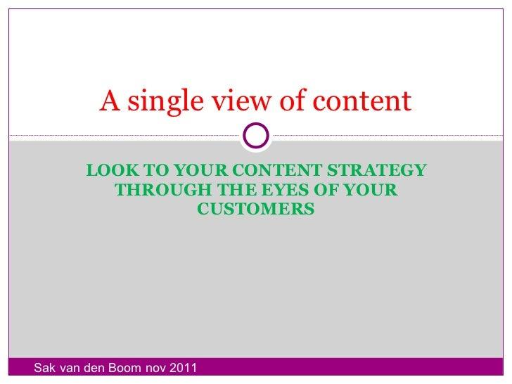 Trends in customer media nov 2011