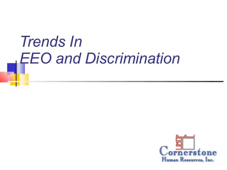 Trends in discrimination claims