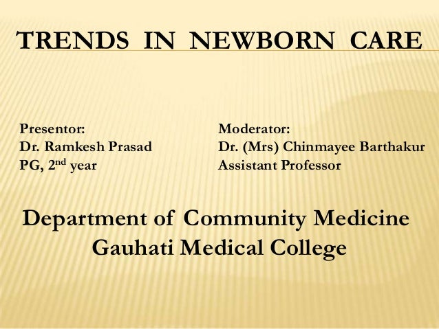 Trends in Newborn Care in India