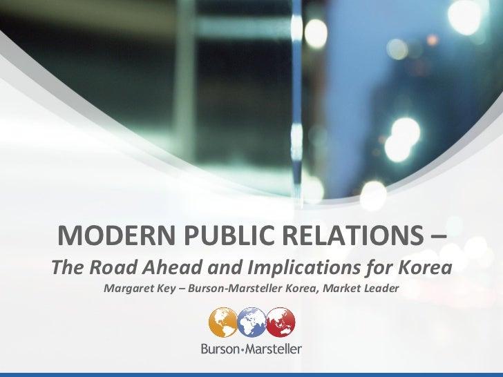 Trends in PR - Global Best Practice