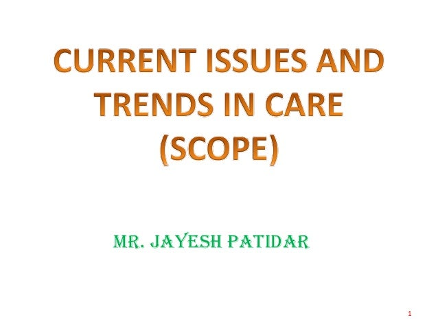 Trends in psychiatry nursing