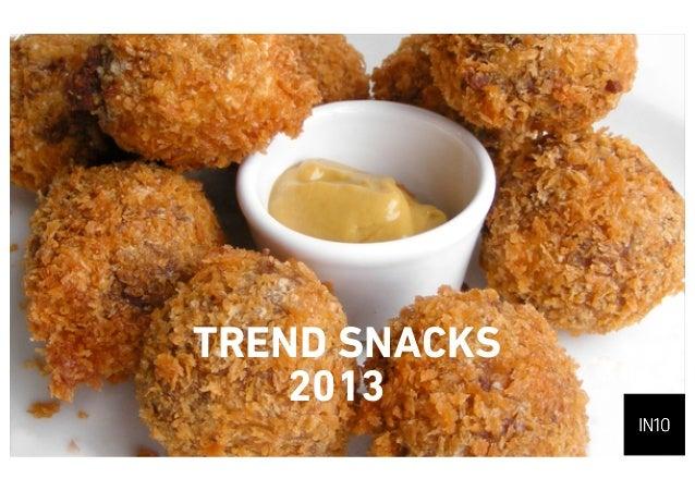 Trend Snacks2013