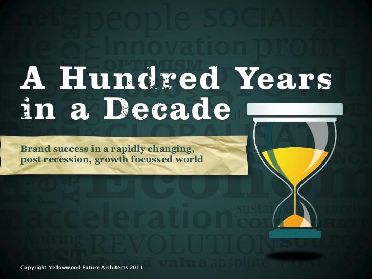 A Hundred Years in a Decade