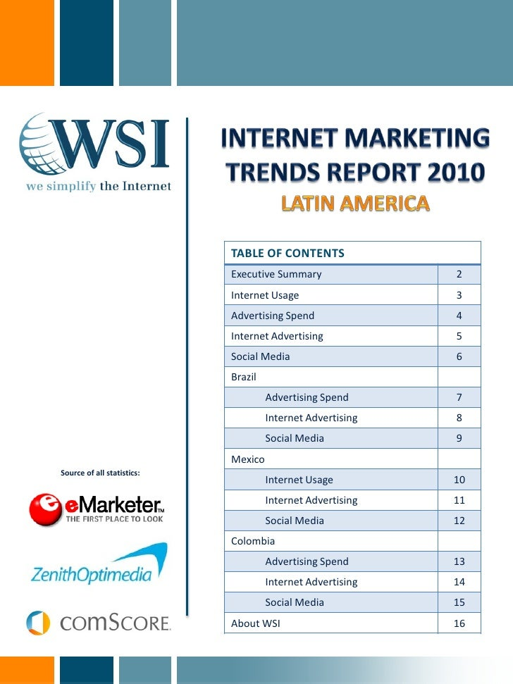 Internet Marketing Trends for Latin America