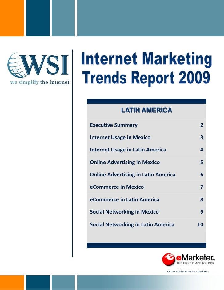 Tendencia Internet Marketing en Latinoamérica