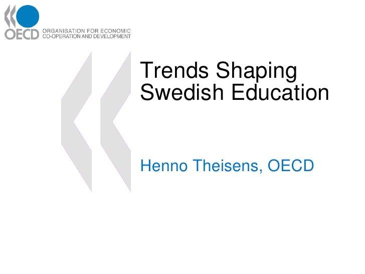 Henno Theisens, OECD