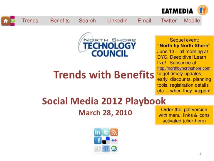 Trends with benefits mar 2012