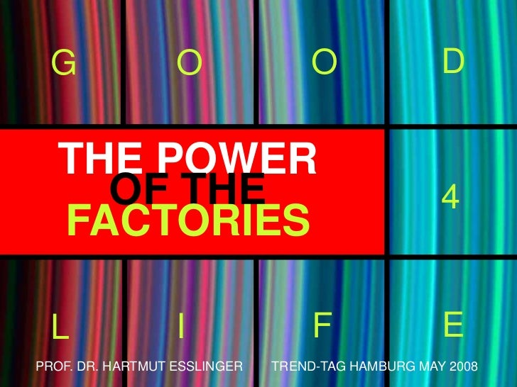 The Power of the Factories