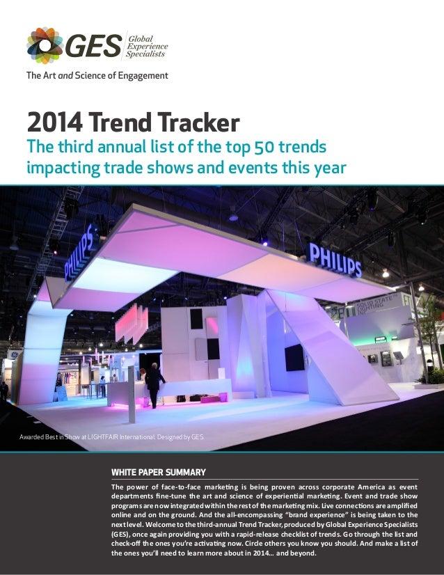 Trend Tracker 2014