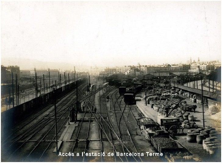 Accés a l'estació de Barcelona Terme