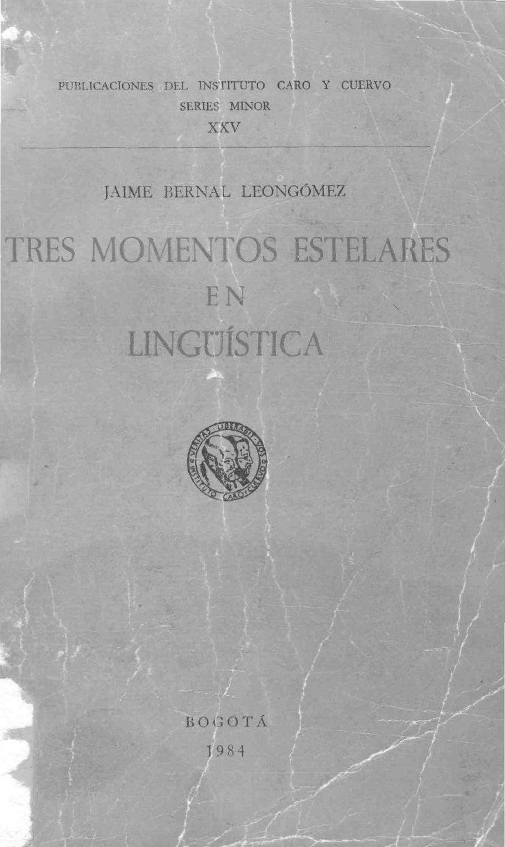 XVI. LUIS FLÓREZ, Las «Apuntaciones críticas» de Cuervo y      el español bogotano cien años después: pronunciación      y...