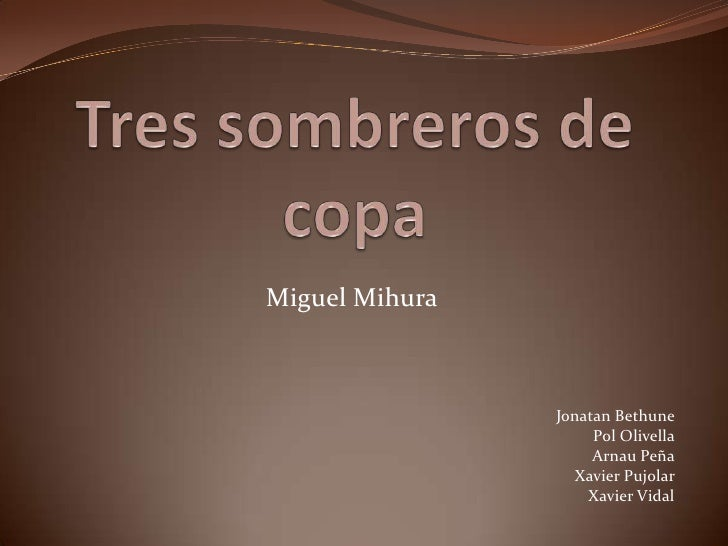 Miguel Mihura                Jonatan Bethune                     Pol Olivella                     Arnau Peña              ...
