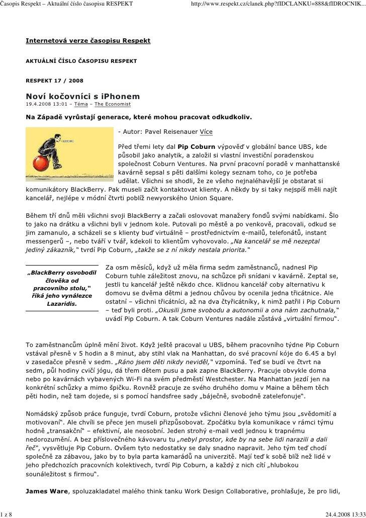 Časopis Respekt – Aktuální číslo časopisu RESPEKT                  http://www.respekt.cz/clanek.php?fIDCLANKU=888&fIDROCNI...