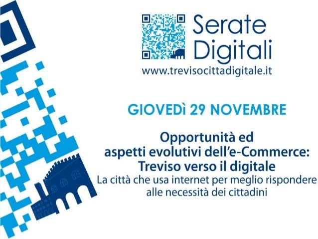 Treviso, 29 novembre 2012              1eCommerce: Treviso verso il digitale