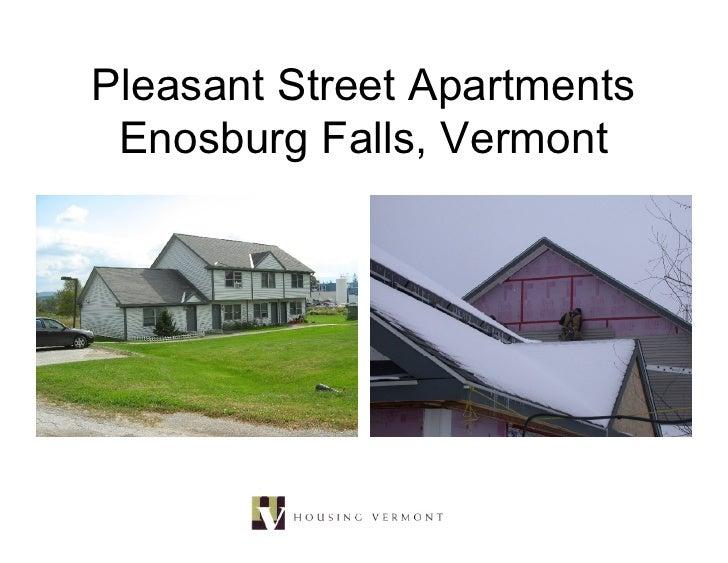 Pleasant Street Apartments  Enosburg Falls, Vermont