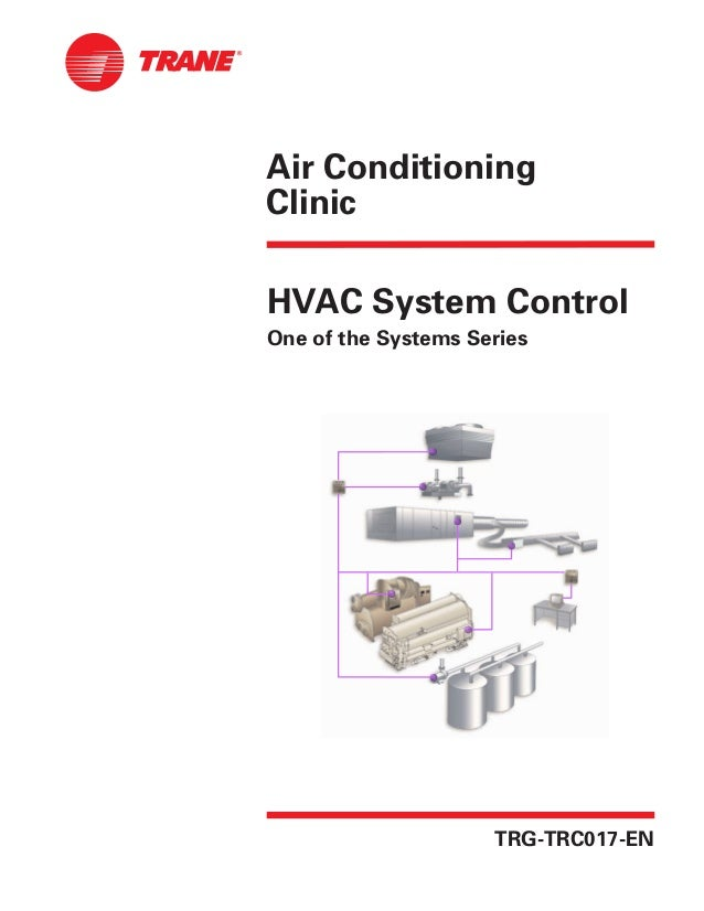 Air ConditioningClinicHVAC System ControlOne of the Systems SeriesTRG-TRC017-EN