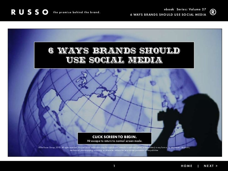 ebook Ser ies: Volume 27                  the promise behind the brand.                                                   ...