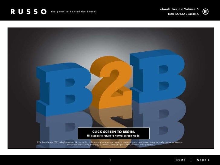 Trg B2B and Social Media