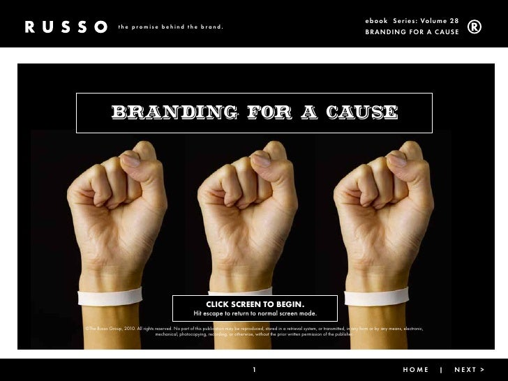Branding for a Cause