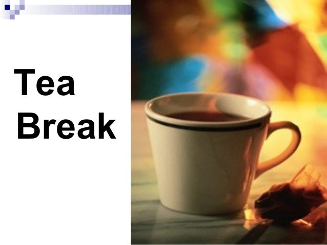 Trg Dept Group Rules And Tea Break